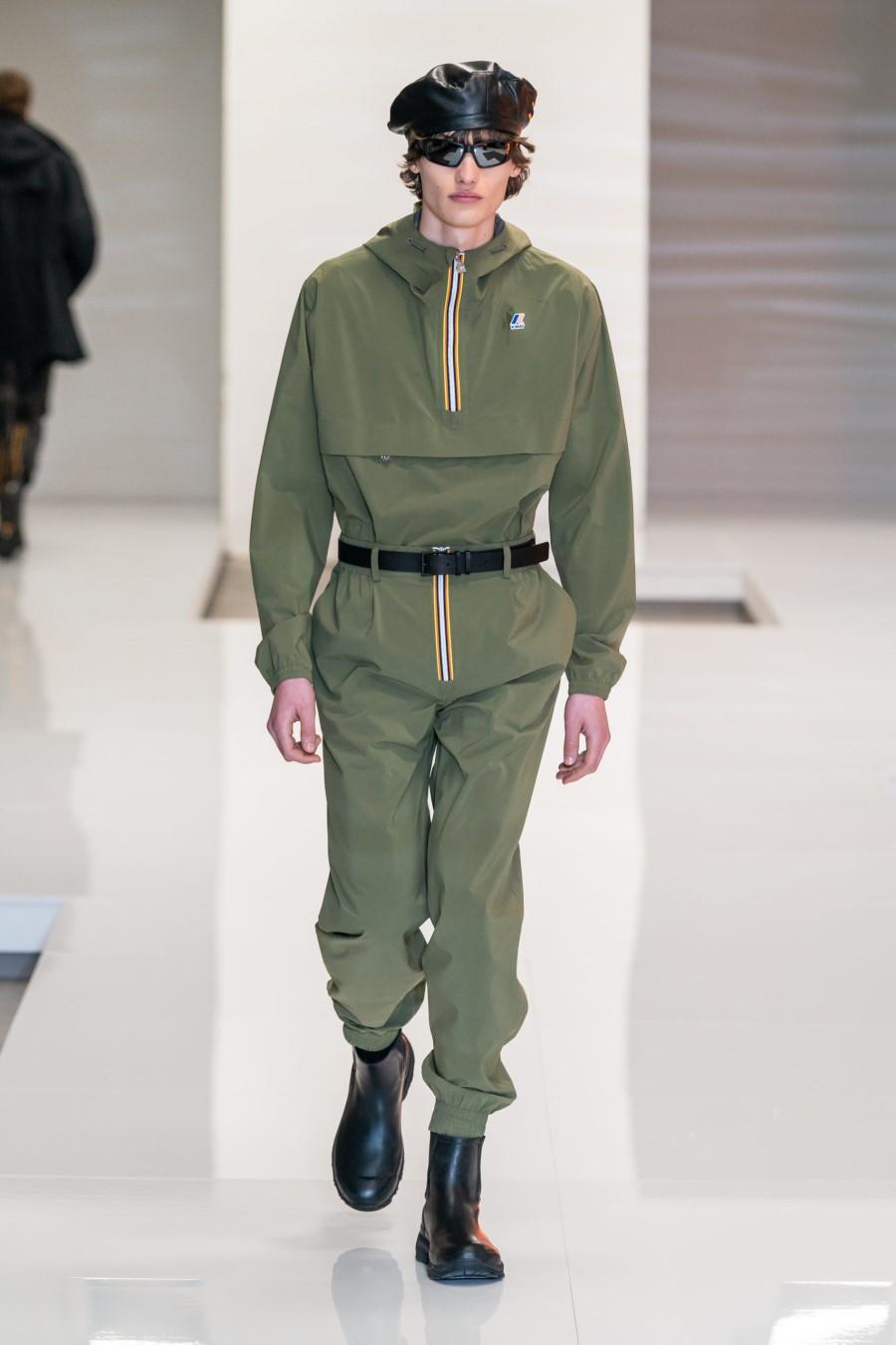 K-Way Fall Winter 2021 - Milan Fashion Week Men's