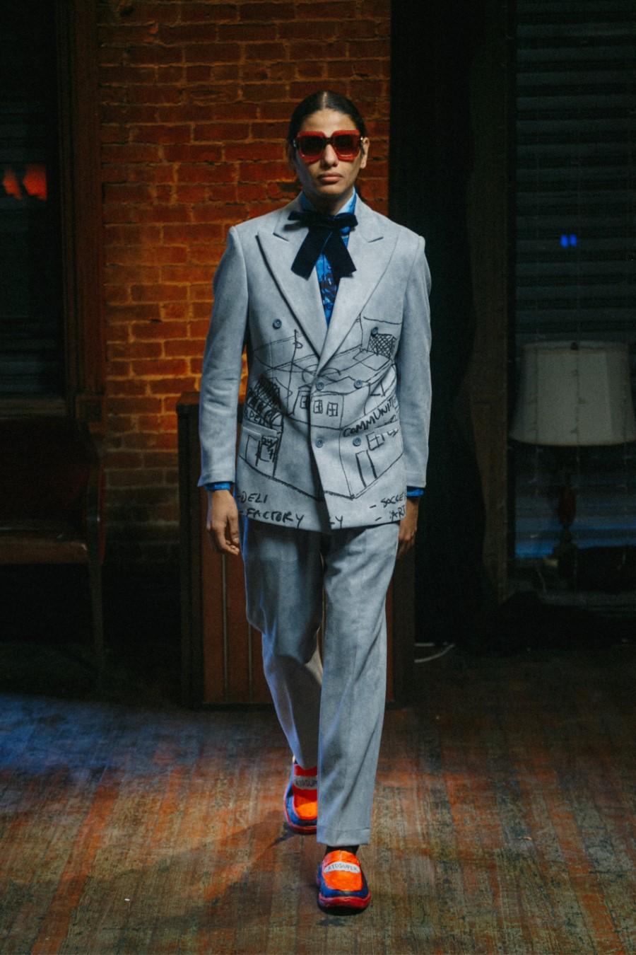 KidSuper Fall Winter 2021 - Paris Fashion Week Men's