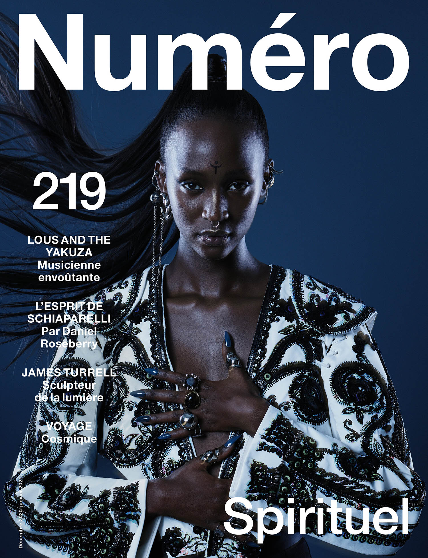 Lous and the Yakuza covers Numéro December 2020 January 2021 by Colin Solal Cardo