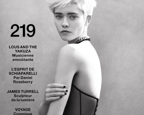 Maike Inga covers Numéro December 2020 January 2021 by Dominique Issermann