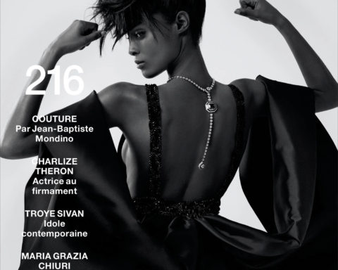 Malika Louback and Blesnya Minher cover Numéro September 2020 by Jean-Baptiste Mondino