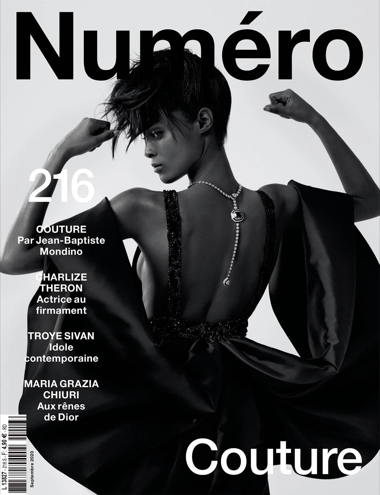 Malika Louback and Blesnya Minher cover Numéro September 2020 by Jean-Baptiste Mondino