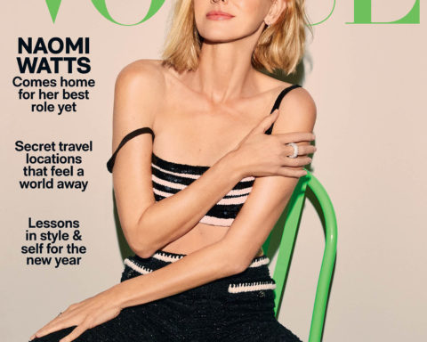 Naomi Watts covers Vogue Australia January 2021 by Carin Backoff