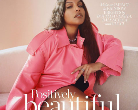 Paloma Elsesser covers Porter Magazine January 25th, 2021 by Renell Medrano