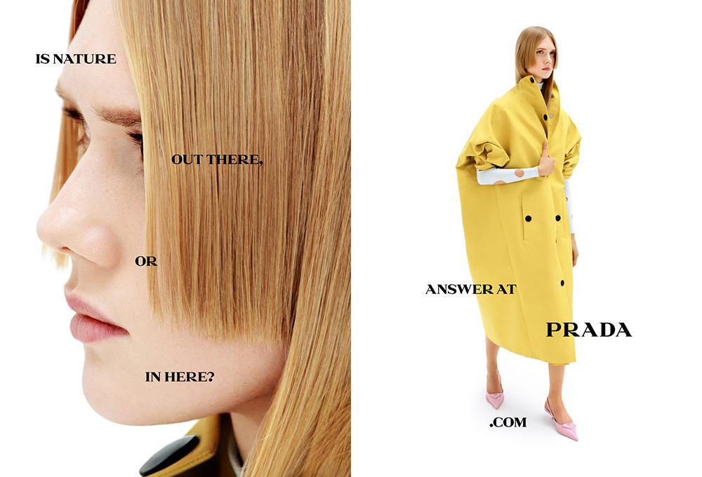 Prada Spring Summer 2021 Campaign