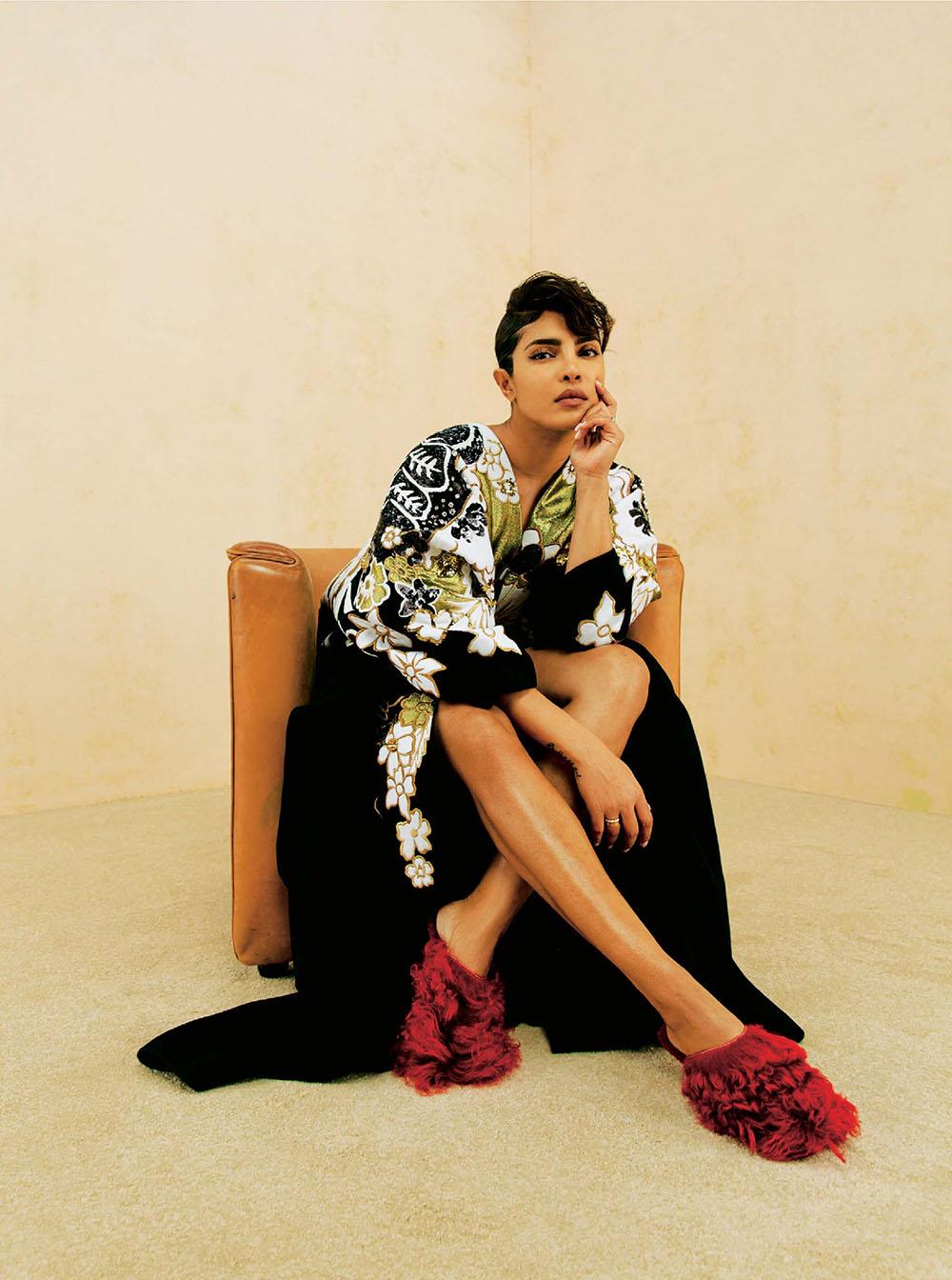 Priyanka Chopra covers The Sunday Times Style January 10th, 2021 by Christina Ebenezer