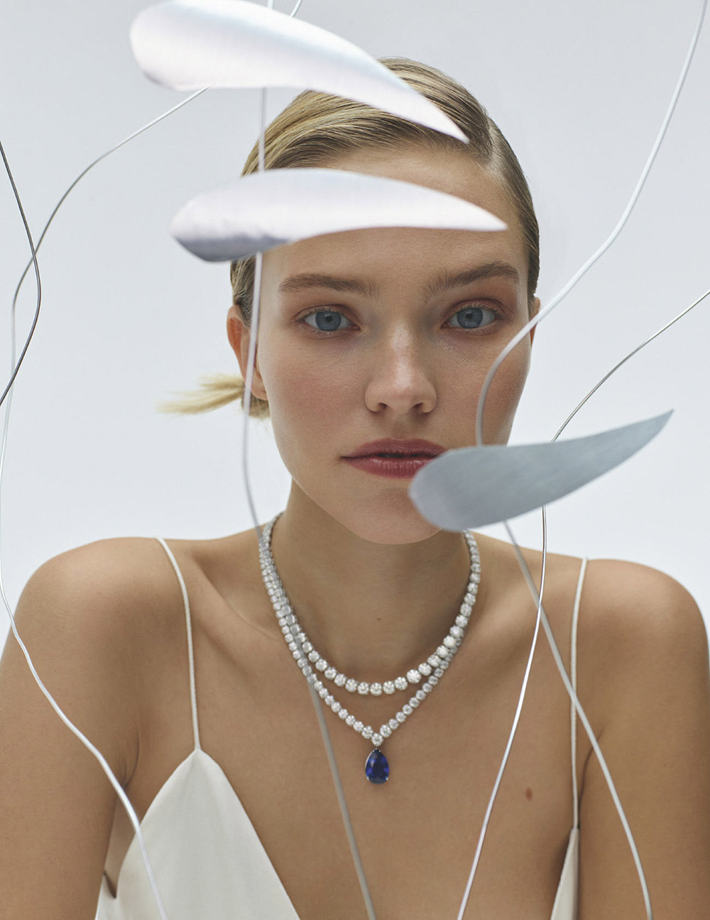 Sasha Luss covers Vogue Horoscope Russia January 2021 by Polina Tverdaya