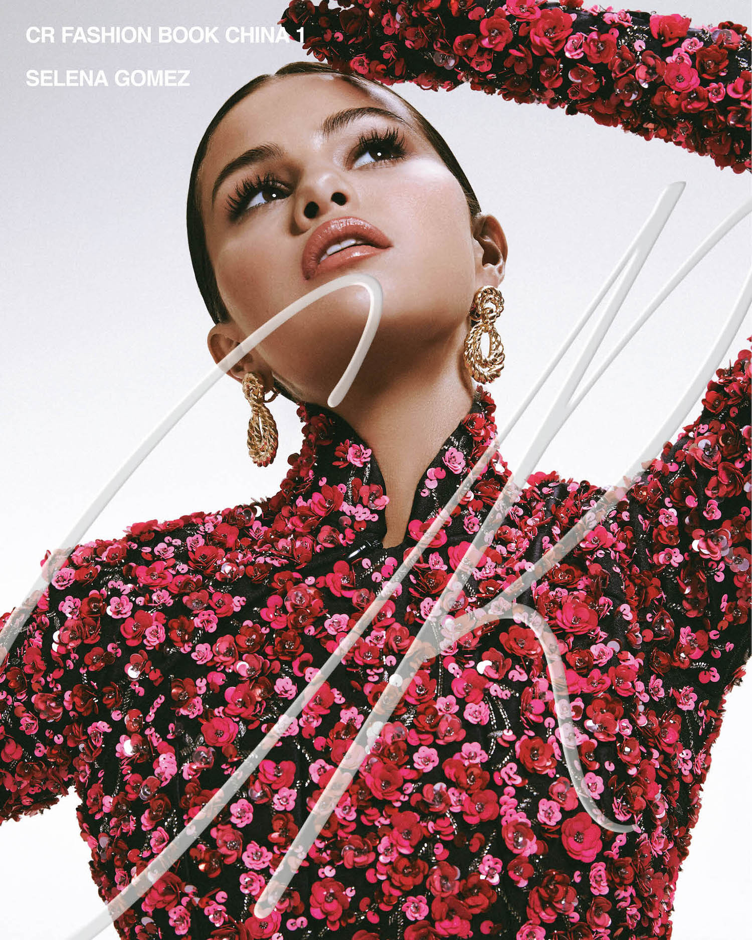 Selena Gomez covers CR Fashion Book China Issue 01 by Adrienne Raquel