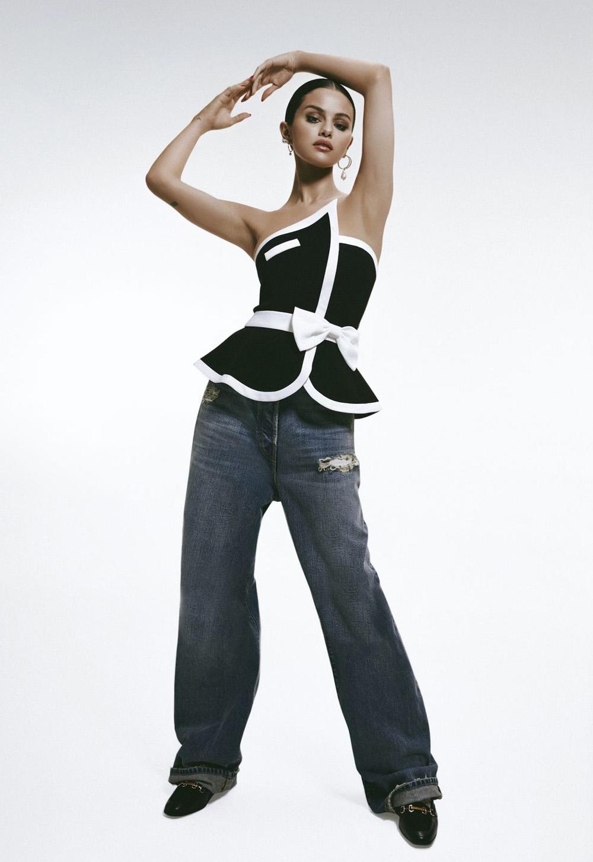 Selena Gomez covers CR Fashion Book China Issue 01 by Adrienne Raquel