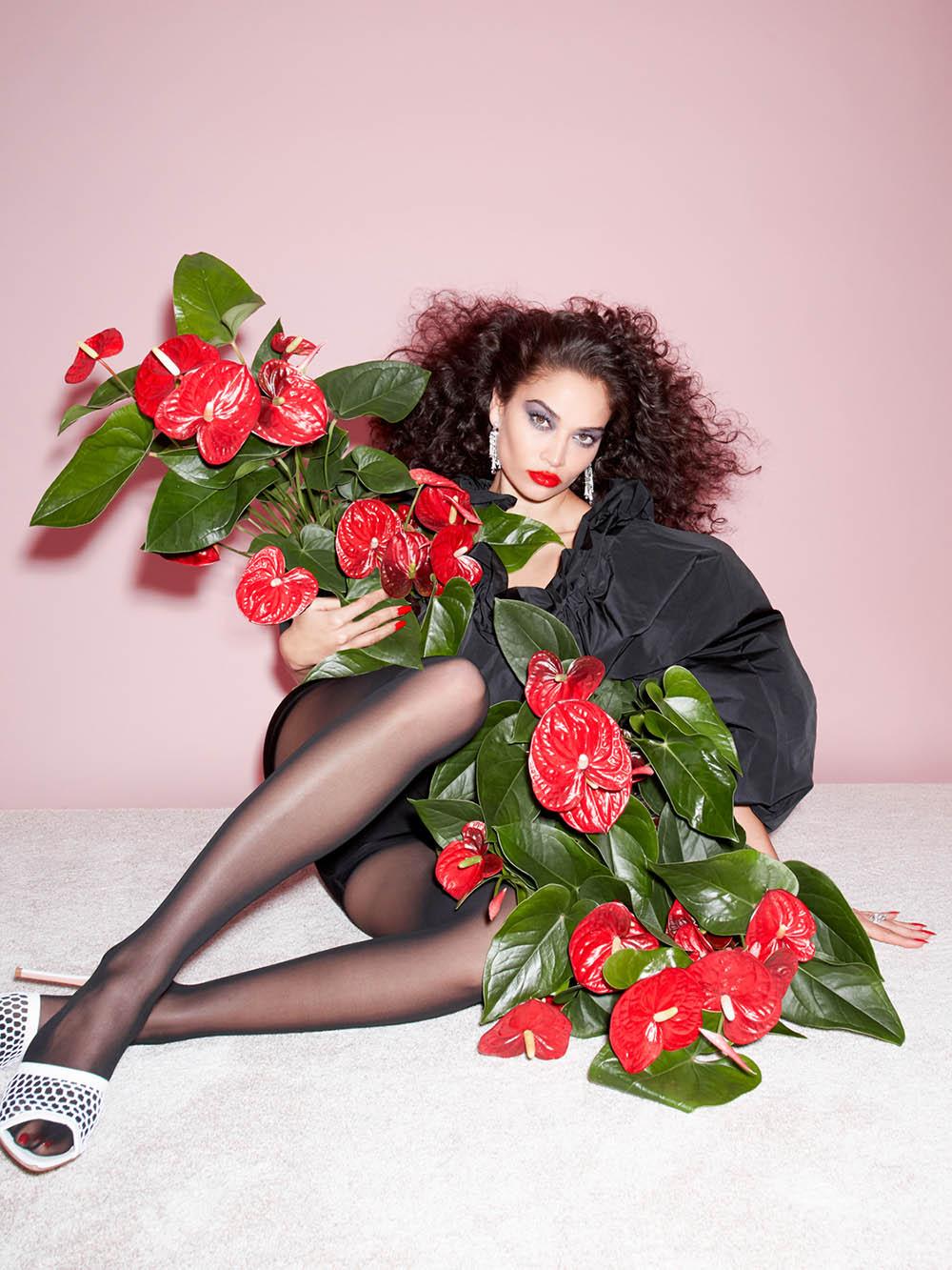 Shanina Shaik covers Harper's Bazaar Singapore January 2021 by Claire Rothstein