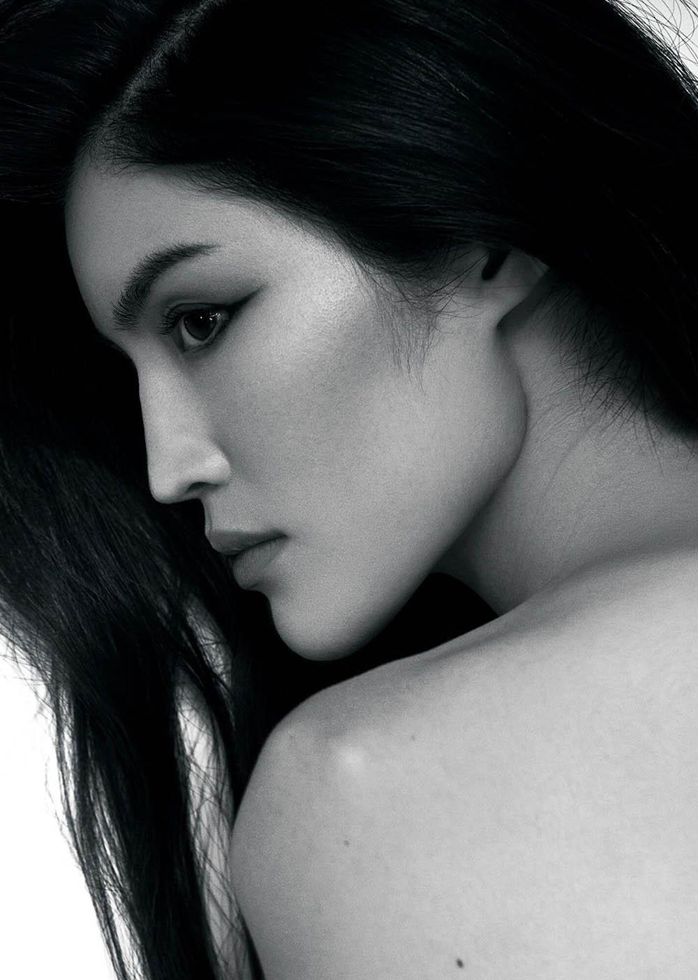 Sui He covers CR Fashion Book China Issue 01 by Ziqian Wang