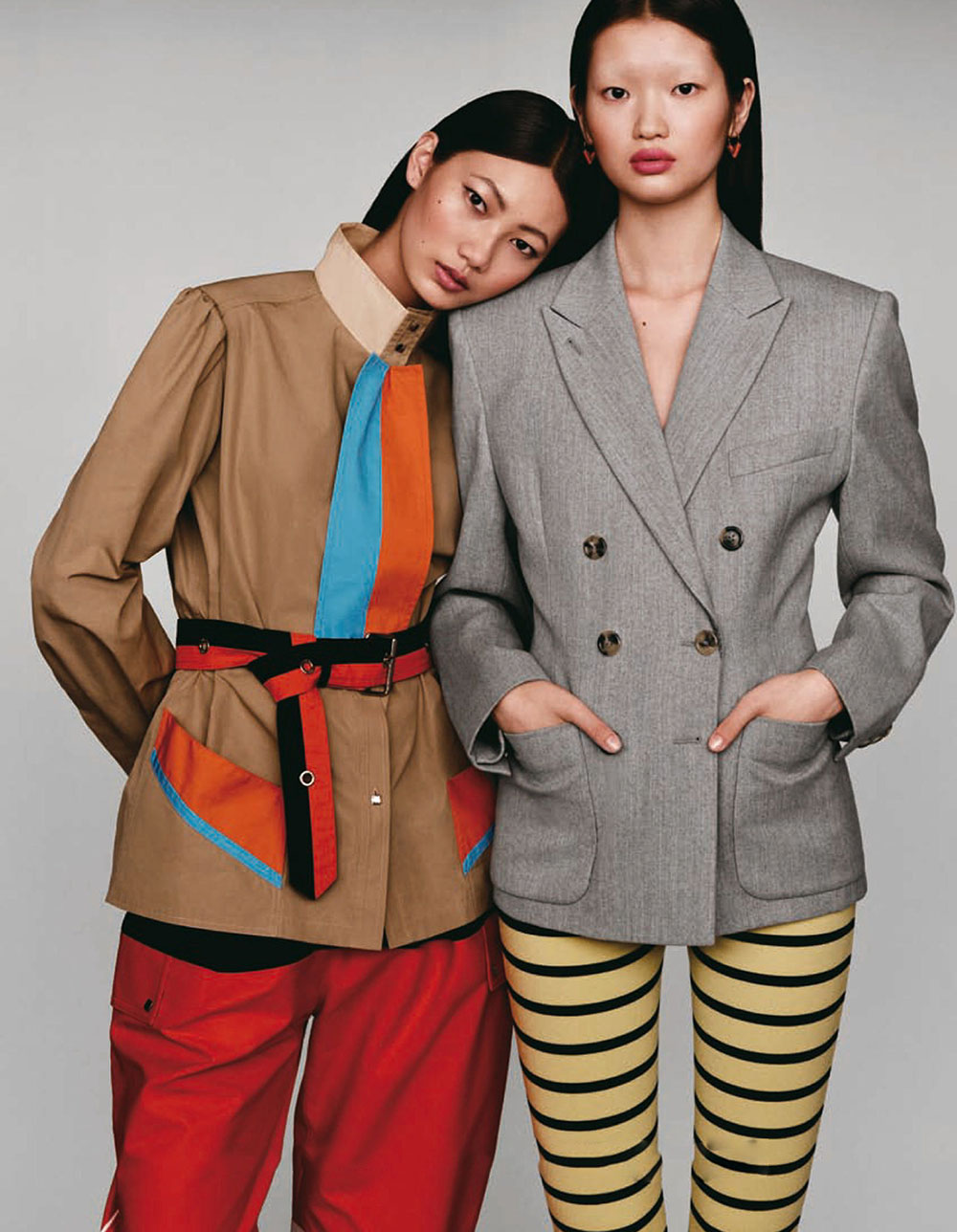 ''The New School'' by Liu Song for Vogue China January 2021