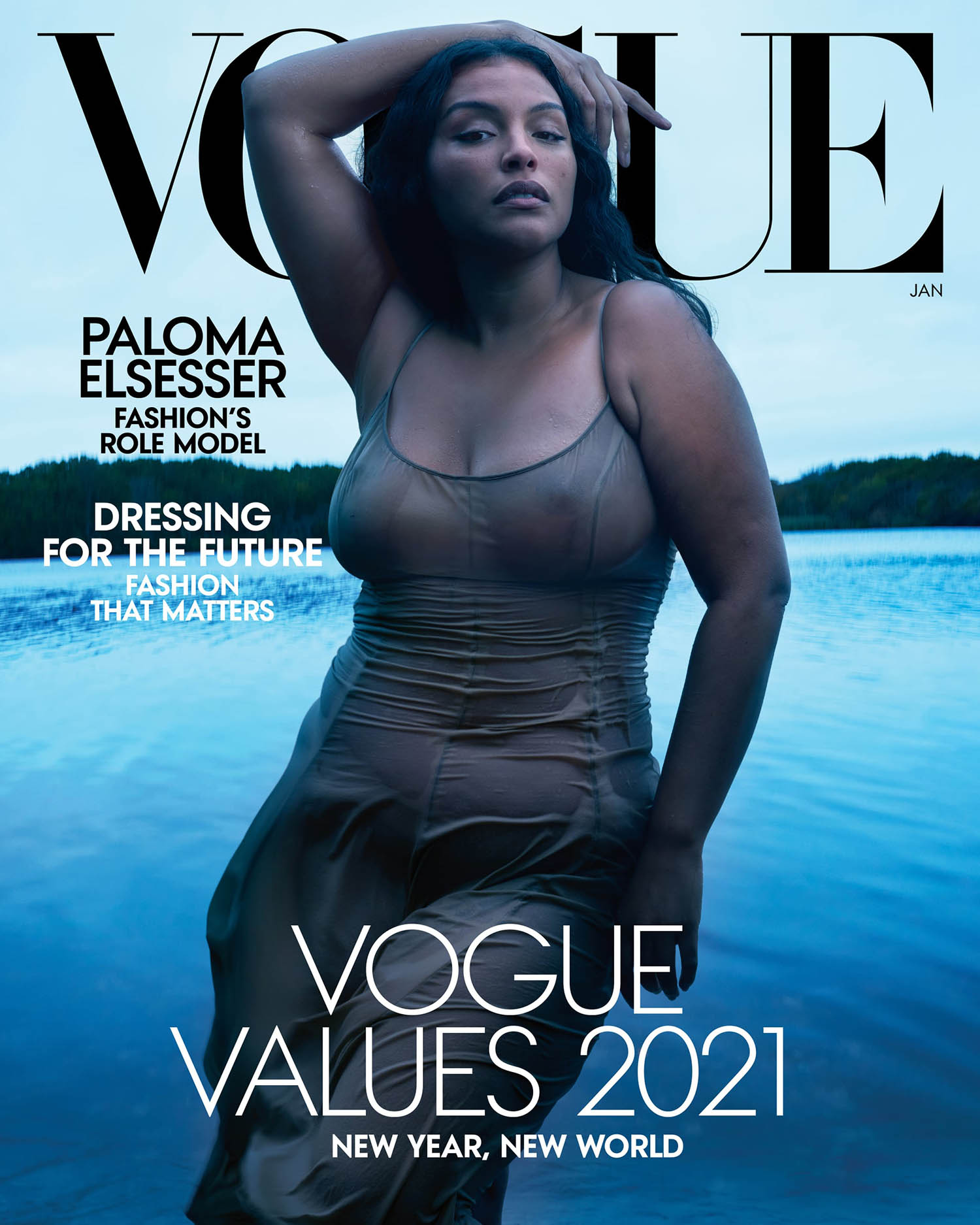 Vogue US January 2021 covers by Annie Leibovitz