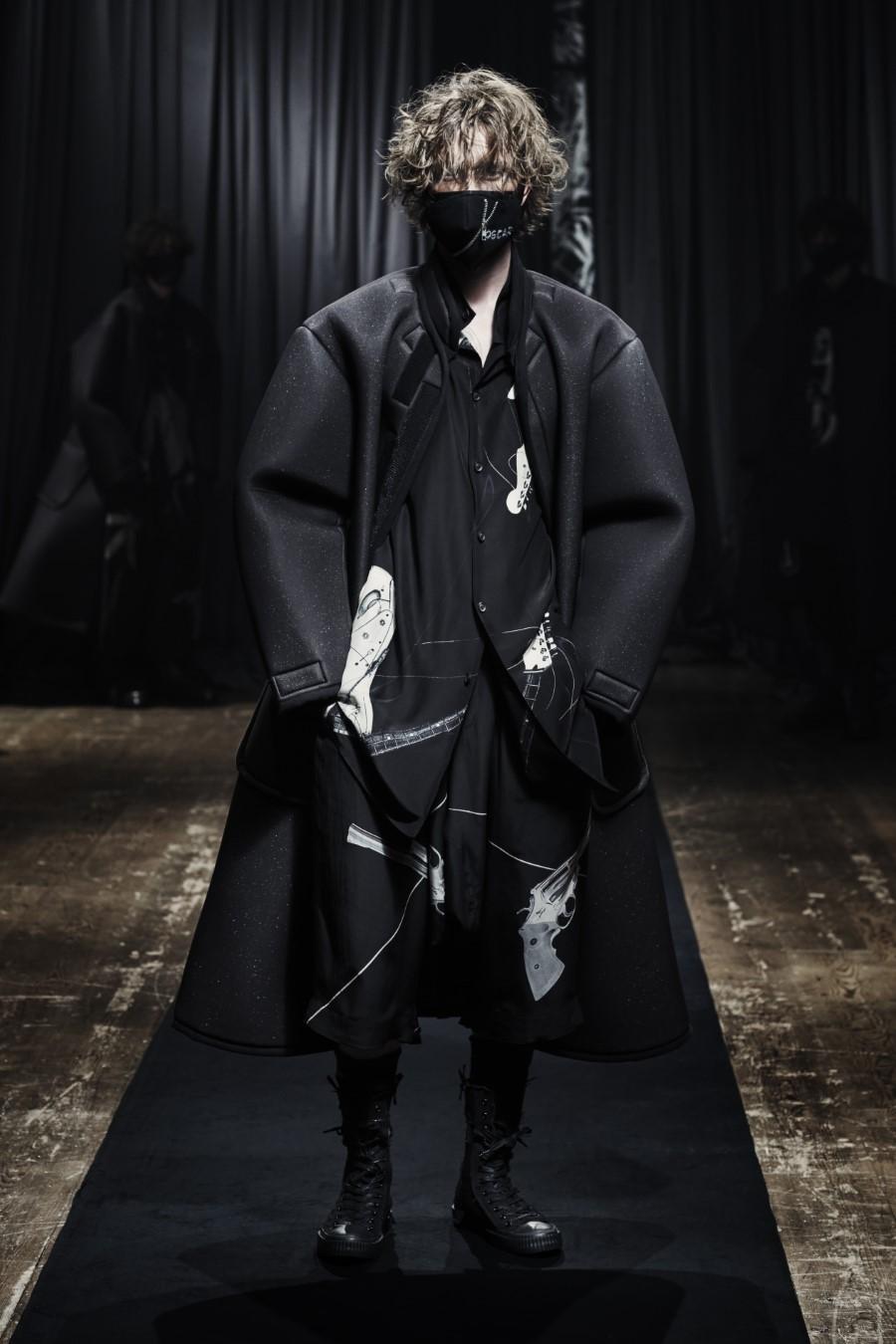 Yohji Yamamoto Fall Winter 2021 - Paris Fashion Week Men's