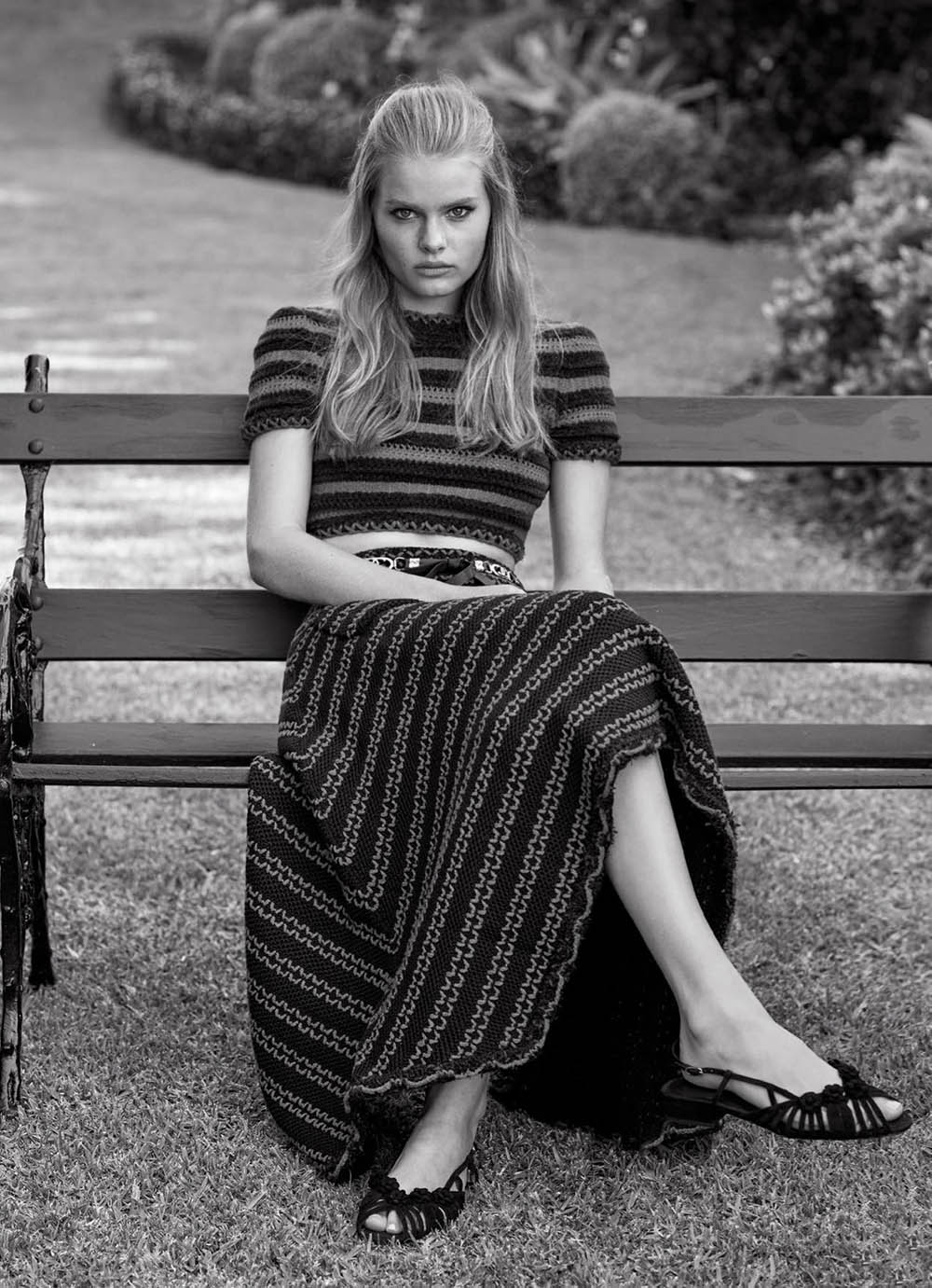 Zoe Blume by Nicole Bentley for Marie Claire Australia January 2021