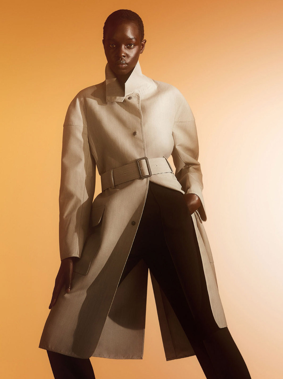 Akuol Deng Atem and Patrick Rom by Josh David Payne for Wallpaper* Magazine March 2021