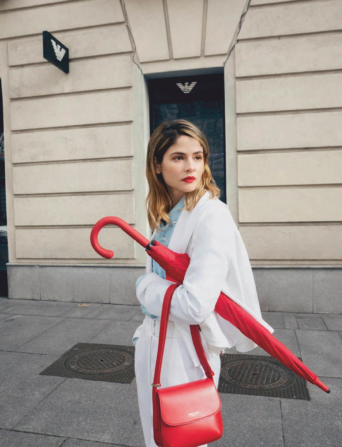 Alba Galocha by Elena Olay for Harper's Bazaar Spain February 2021