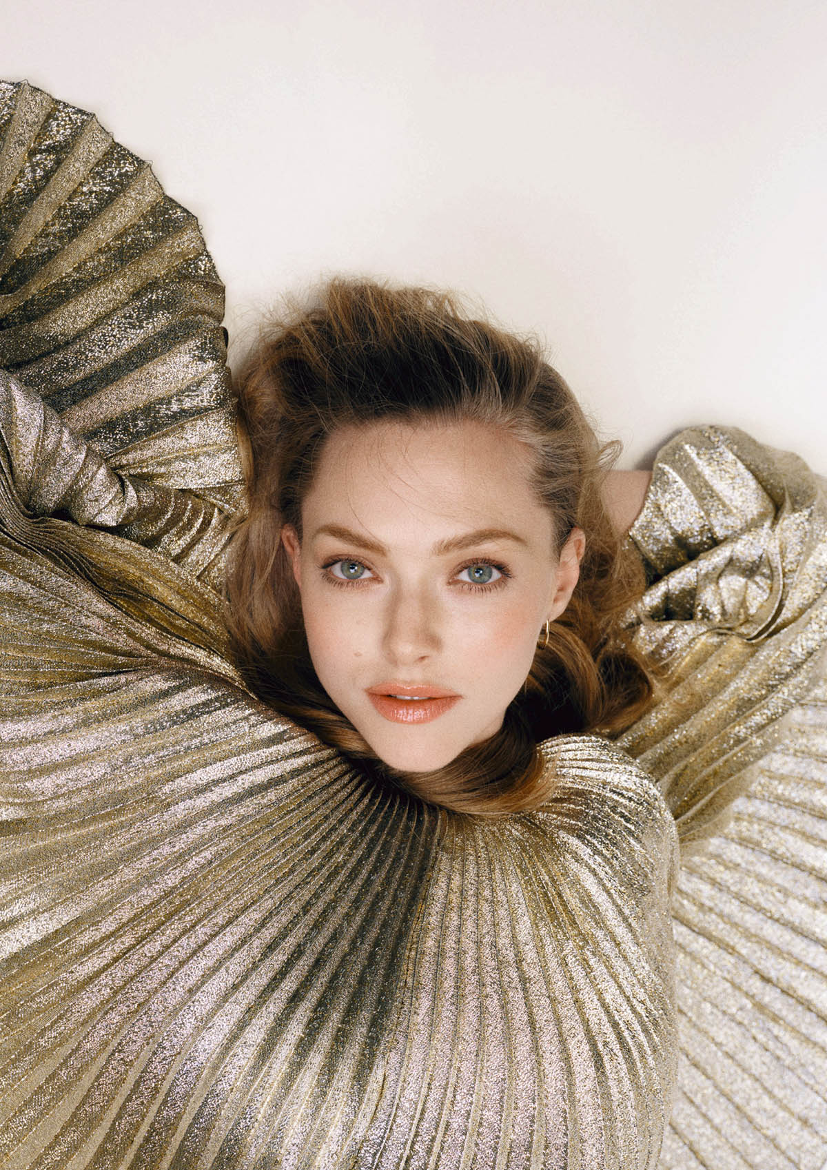 Amanda Seyfried covers The Sunday Times Style January 31st, 2021 by Bjorn Iooss