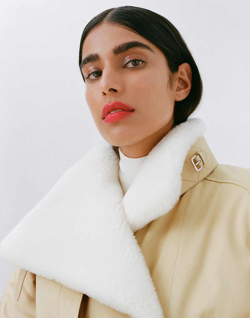 Anisha Sandhu by Andrew Stinson for DuJour Magazine Winter 2020