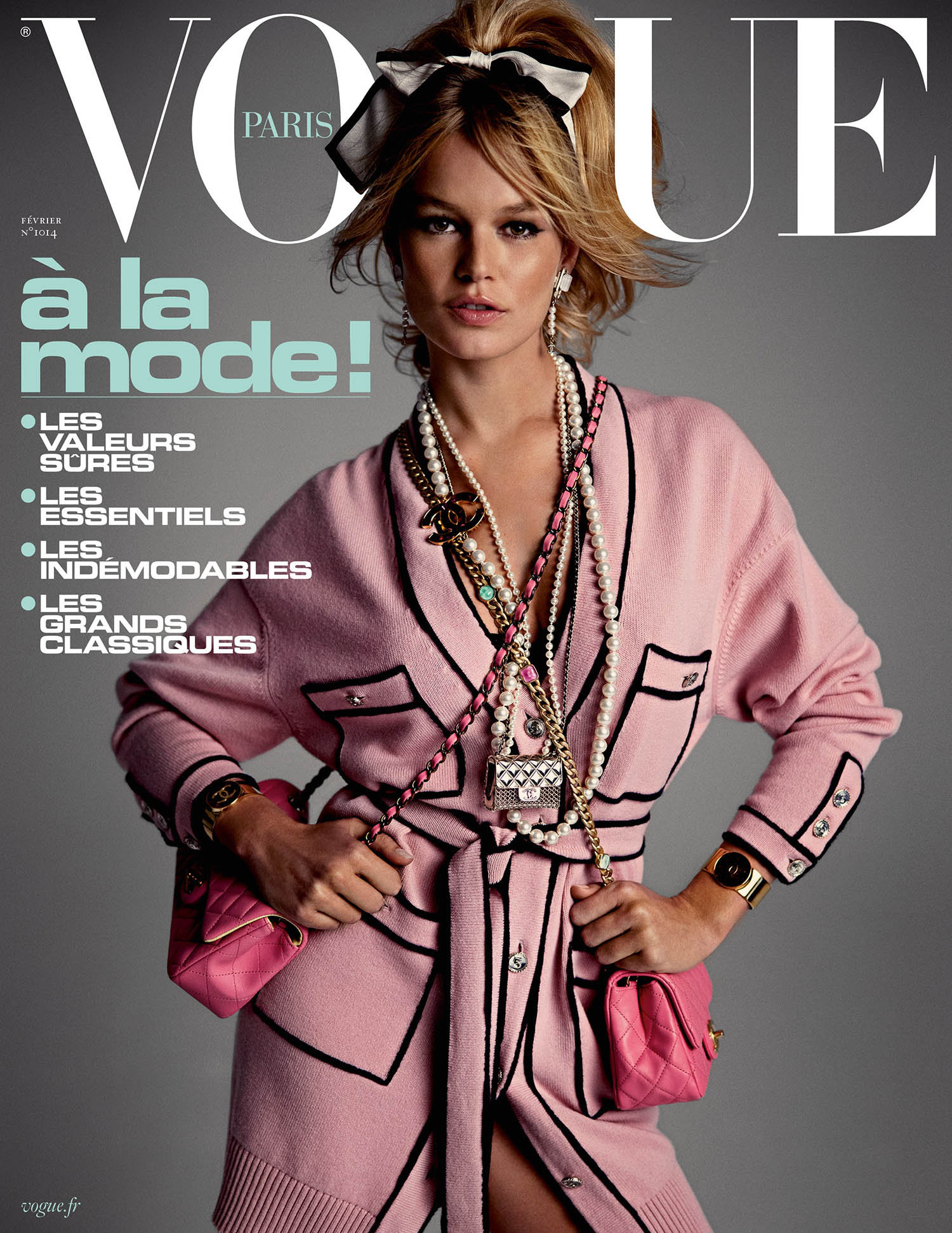 Anna Ewers covers Vogue Paris February 2021 by Inez and Vinoodh