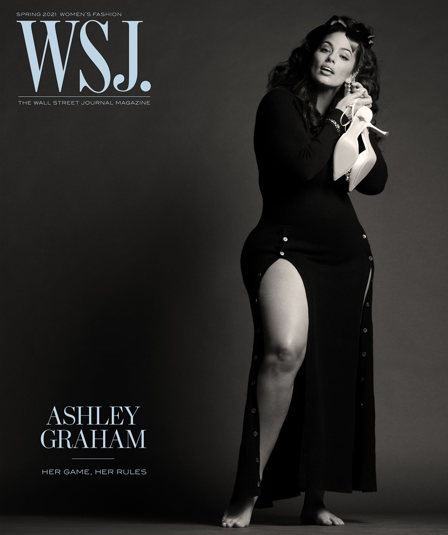 Ashley Graham covers WSJ. Magazine Spring 2021 by Ethan James Green