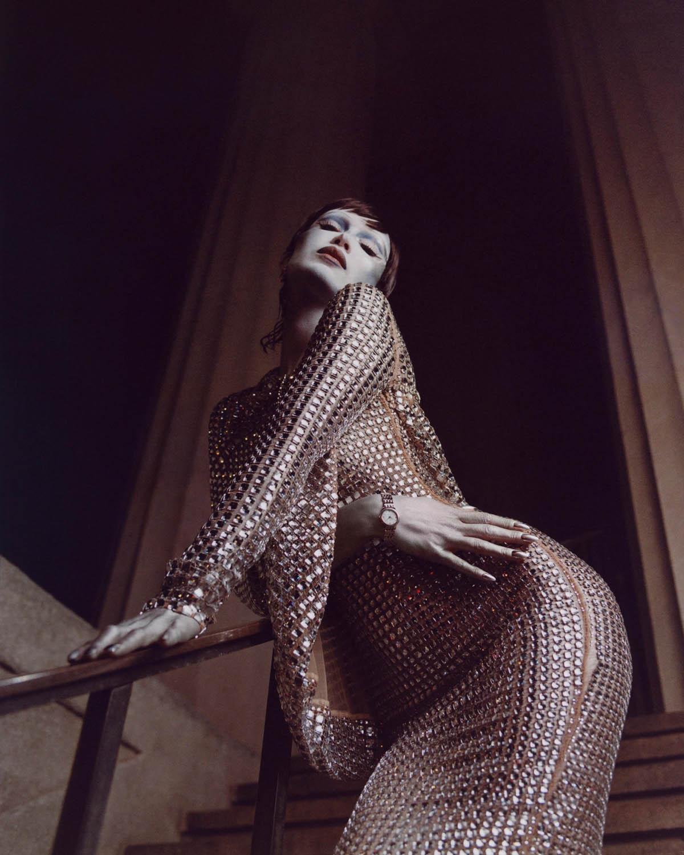Bella Hadid by Luke Gilford for V Magazine Spring 2021