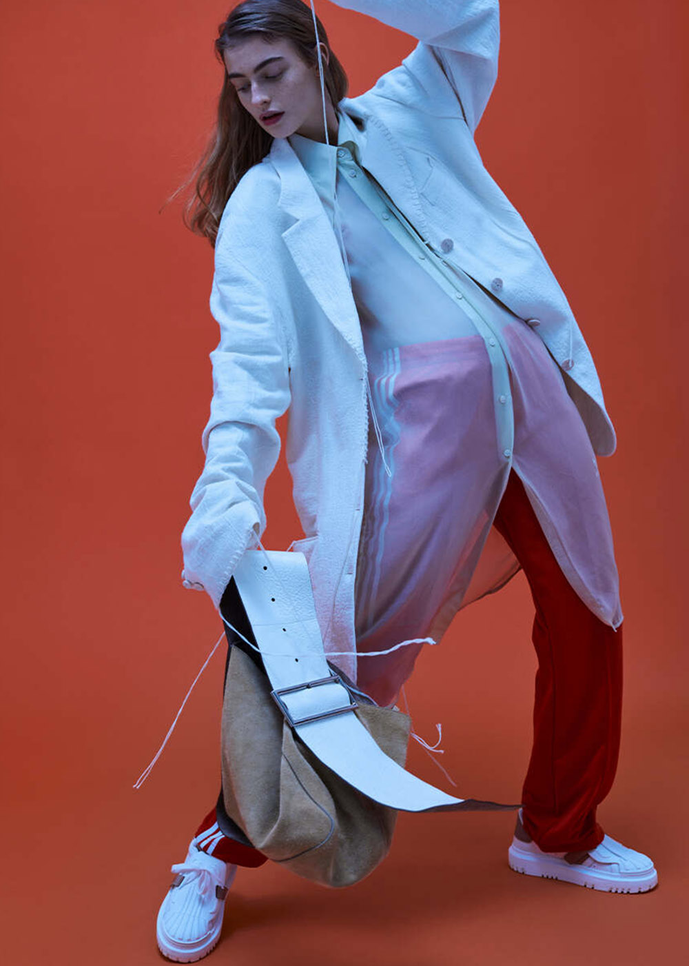 Berit Heitmann by Magnus Magnusson for Vogue Russia February 2021
