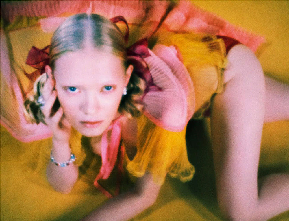 Betsy Teske by Elizaveta Porodina for Vogue Germany January February 2021