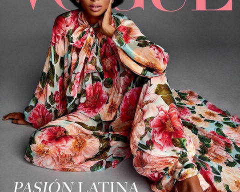Blesnya Minher covers Vogue Latin America February 2021 by Miguel Reveriego