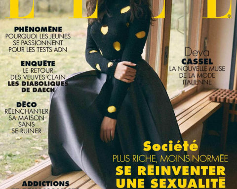 Deva Cassel covers Elle France February 5th, 2021 by Stefano Galuzzi