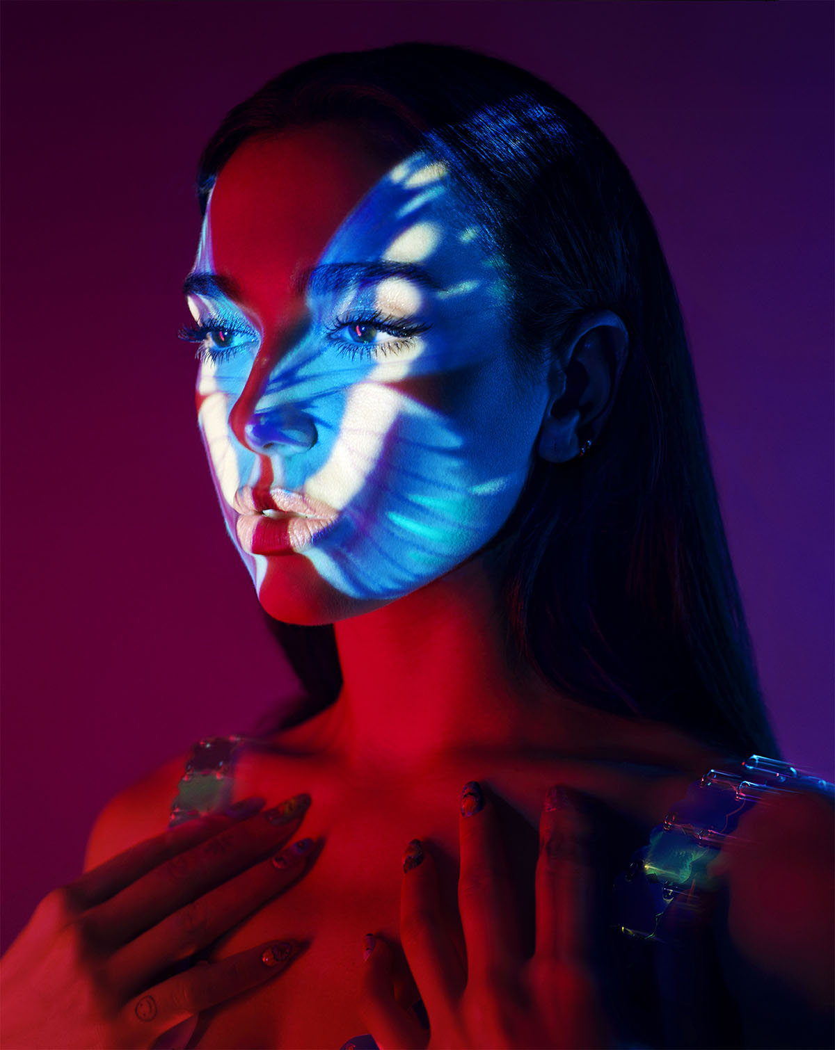 Dua Lipa covers Rolling Stone February 2021 by David LaChapelle