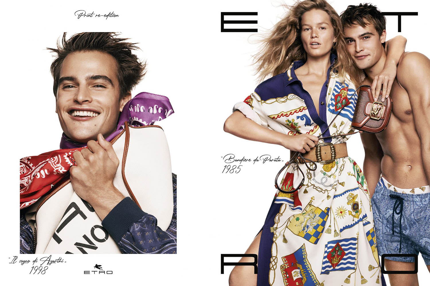 Etro Spring Summer 2021 Campaign