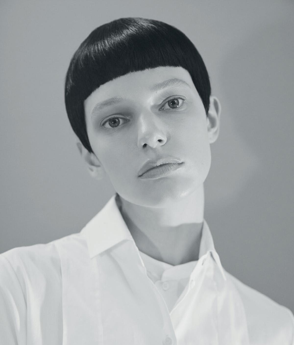 Eva Varlamova and Louis Simmonds by Romain Duquesne for Wallpaper* Magazine February 2021