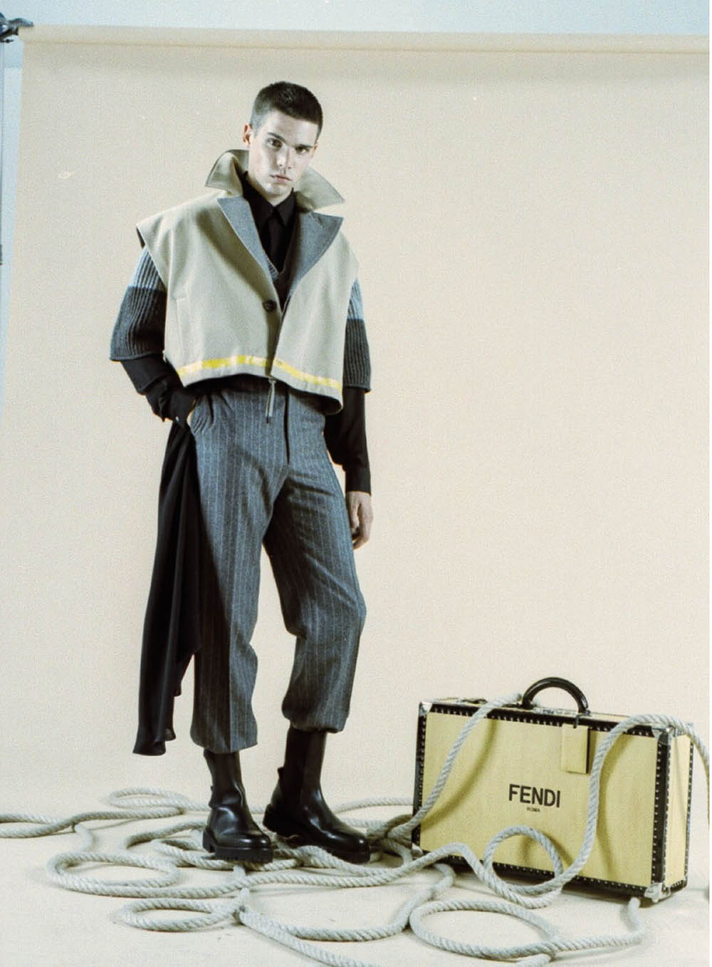 Federico Spinas by Alessio Matricardi for L'Officiel Hommes Malaysia Autumn Winter 2020