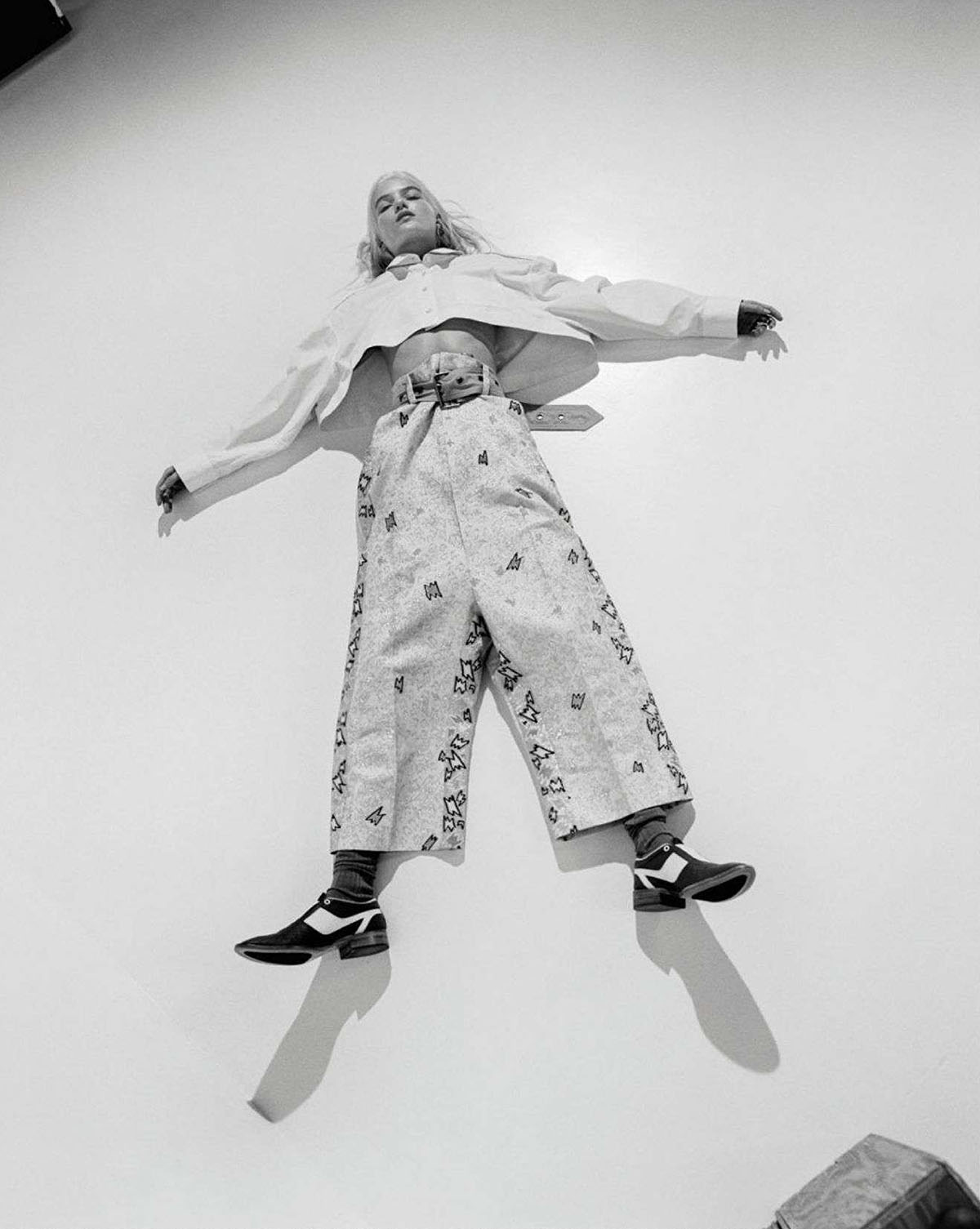 Feli Rasztar by Bennie Julian Gay for Vanity Fair France February 2021