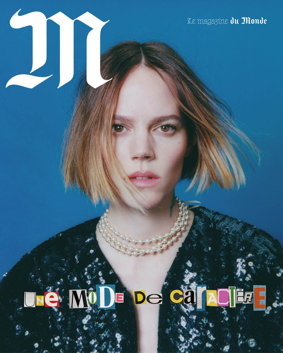 Freja Beha Erichsen covers M Le magazine du Monde February 27th, 2021 by Sam Rock