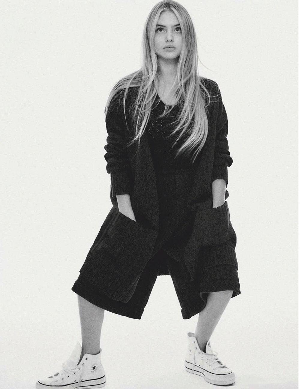 Heidi Klum and Leni Klum cover Vogue Germany January February 2021 by Chris Colls