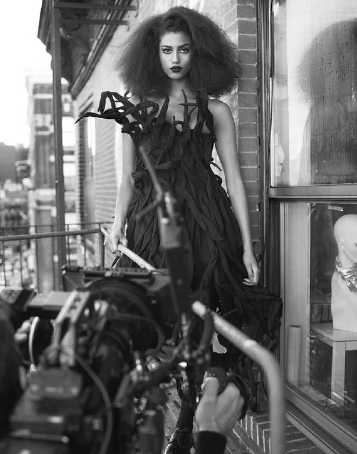 Imaan Hammam by Ethan James Green for M Le magazine du Monde February 27th, 2021