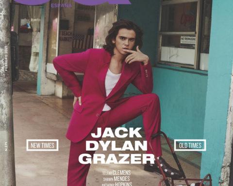 Jack Dylan Grazer covers GQ Spain February 2021 by Michael Schwartz