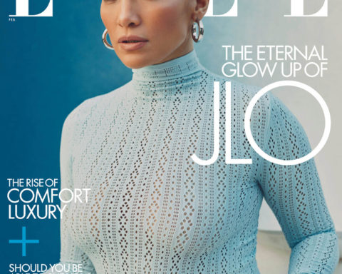 Jennifer Lopez covers Elle US February 2021 by Micaiah Carter