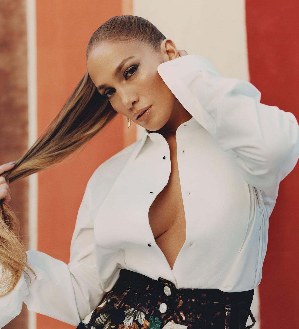 Jennifer Lopez covers Elle US February 2021 by Micaiah Carter