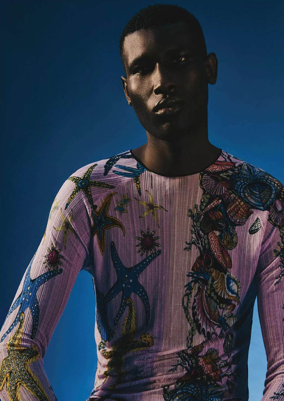 Kieran Warner and Maxwell Annoh by Eddie Blagbrough for Attitude Magazine February 2021