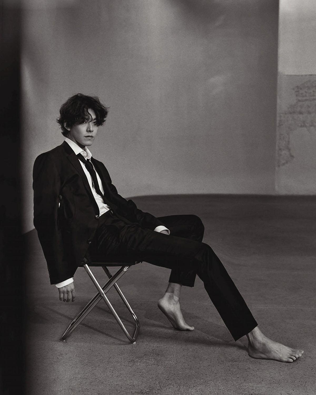 Kim Woo Bin by Mok Jungwook for Vogue China February 2021