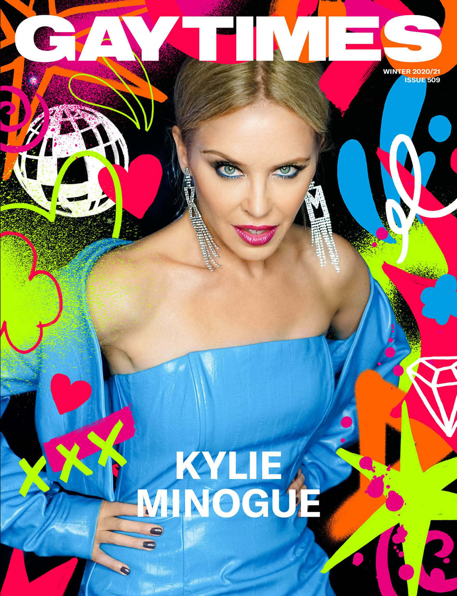 Kylie Minogue covers Gay Times Issue 509 by Darenote Limited