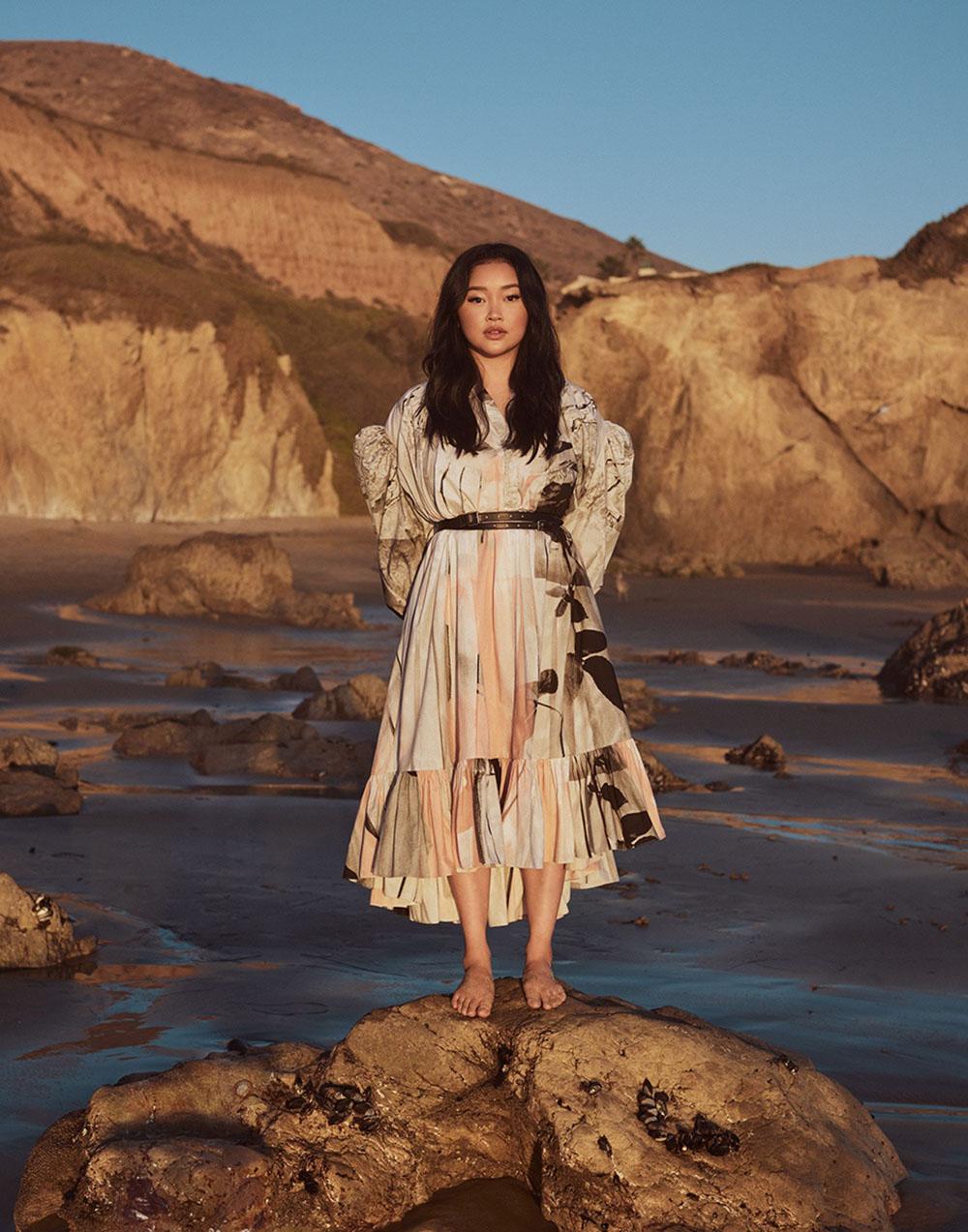 Lana Condor by Jason Kim for Vogue Singapore February 2021