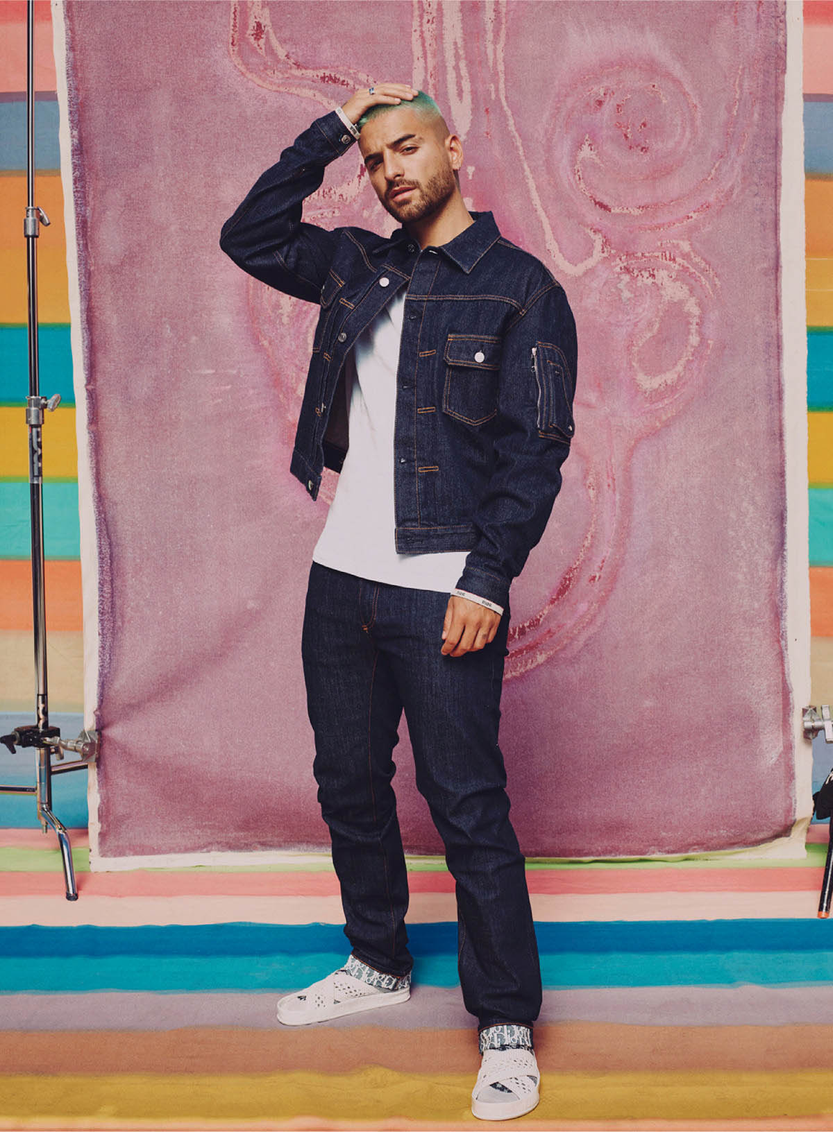 Maluma covers Elle US February 2021 by Micaiah Carter
