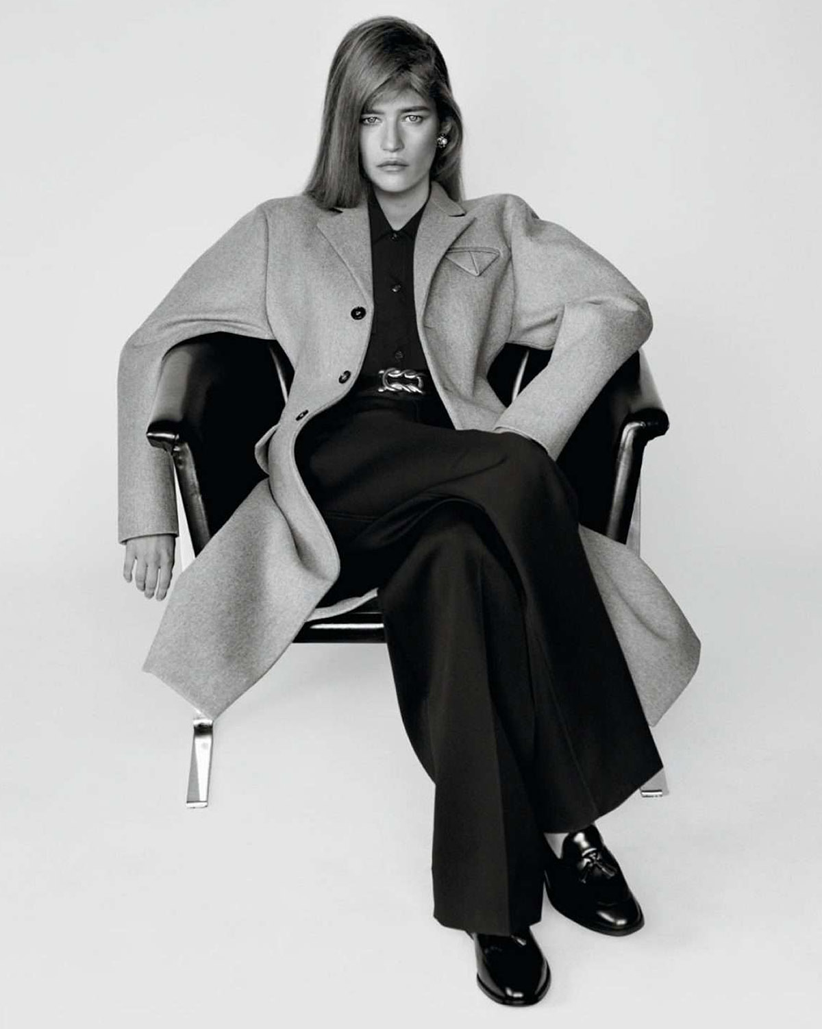 Mariam de Vinzelle and Lola Nicon by Alasdair McLellan for Vogue Paris February 2021