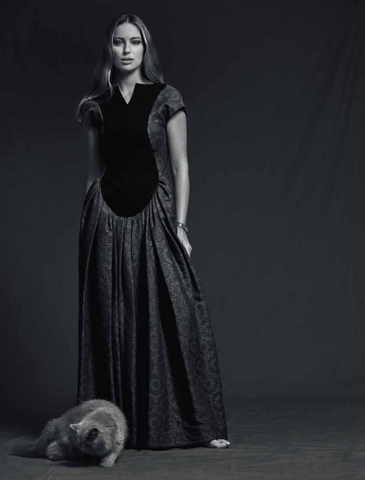 Mathilde Gøhler by Mariya Pepelanova for Eurowoman Denmark January 2021