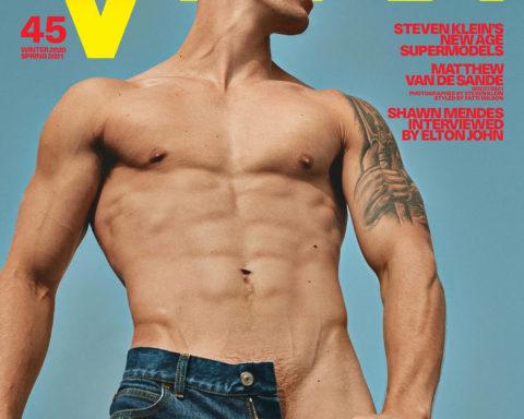 Matt van de Sande covers VMan Winter 2020 Spring 2021 by Steven Klein