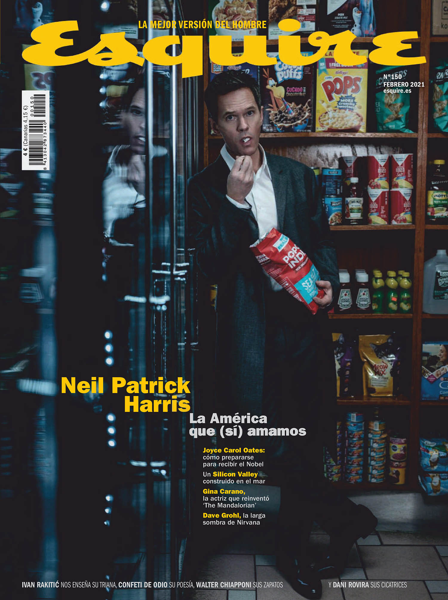 Neil Patrick Harris covers Esquire Spain February 2021 by Juankr
